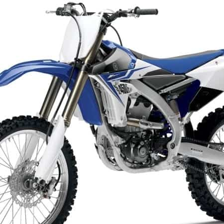 Yamaha Motocross Vector Templates