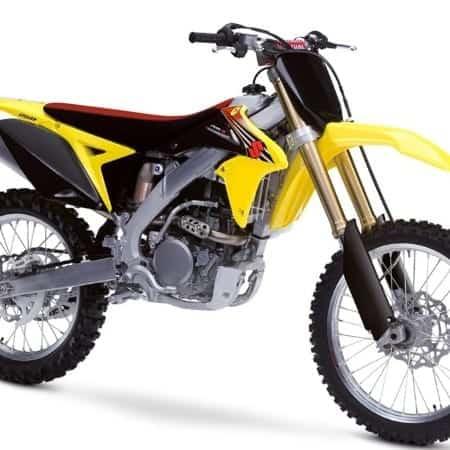 Suzuki Motocross Vector Templates