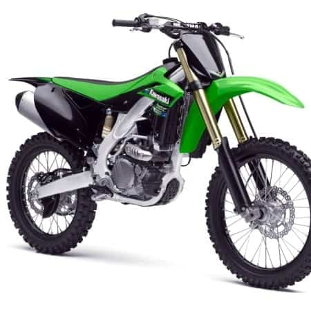 Kawasaki Motocross Vector Templates