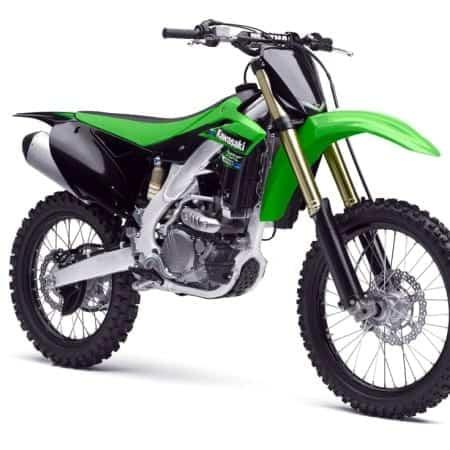 Kawasaki Motocross Vector Templates