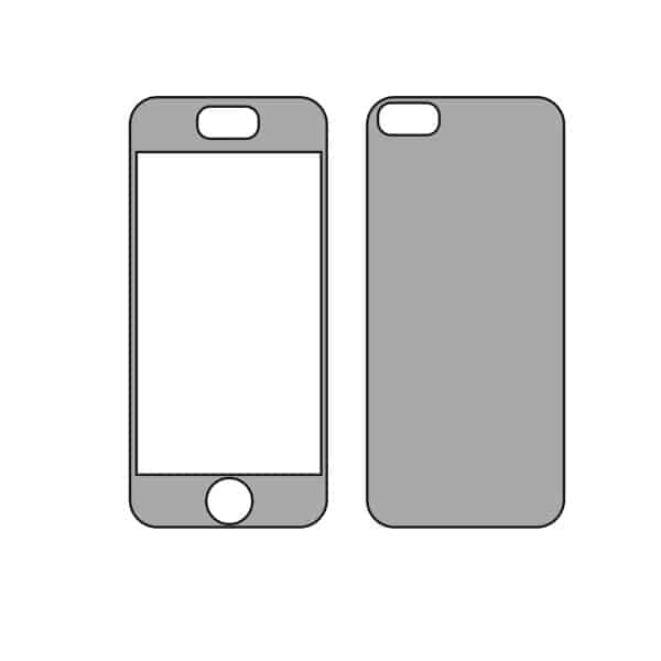 IPhone 5 Vector Template Store
