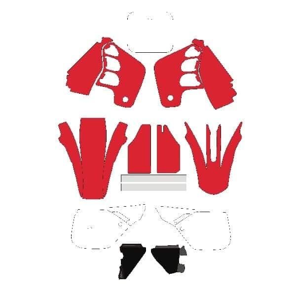 Honda Motocross Vector Templates Vector Template Store