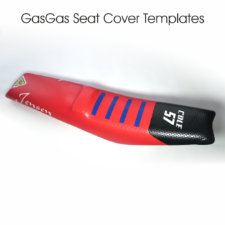 GasGas Seat Cover Templates