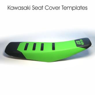 Kawasaki Seat Cover Templates