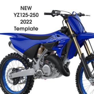Motocross Vector Graphics Templates